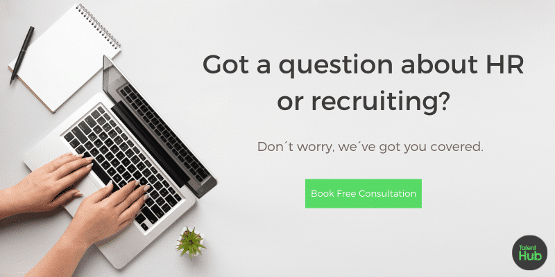 Call to action for recruitment consultation